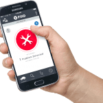 FIXD app in use reading check engine light codes