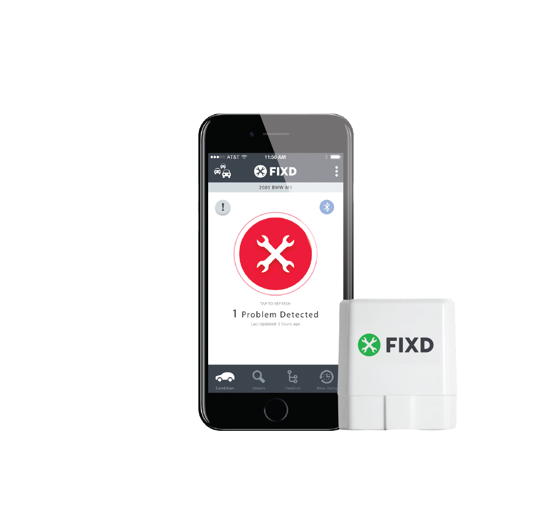 FIXD OBD2 scanner and app