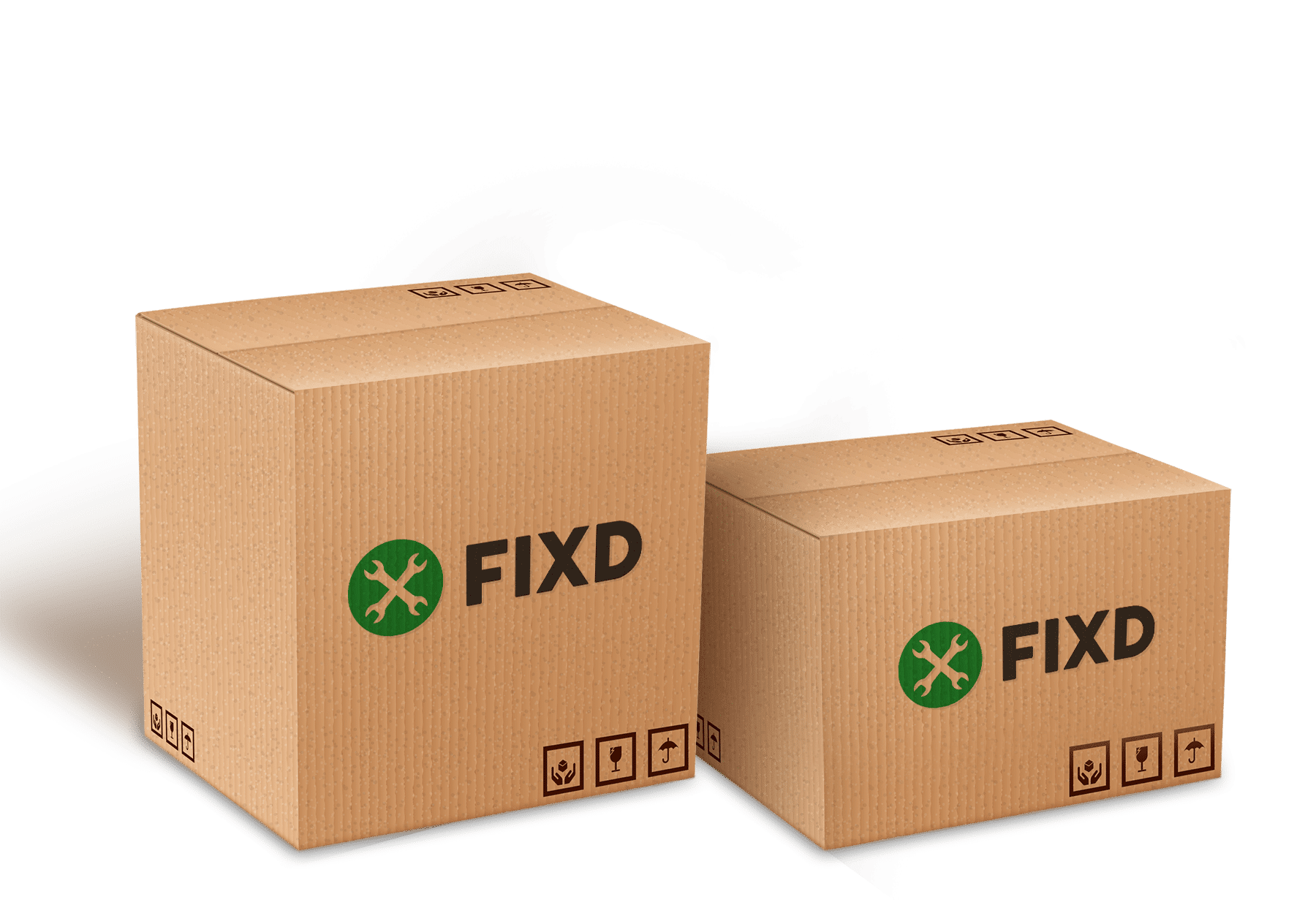 FIXD shipping boxes