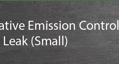 P0456 evaporative emission control system small leak