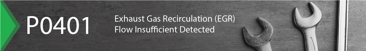 p0400 - exhaust gas recirculation flow insufficient detected