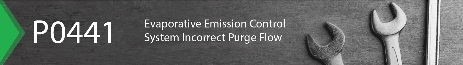 evaporative emission control system incorrect purge flow перевод