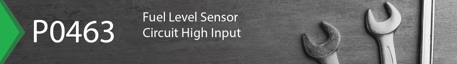 fuel level sensor circuit p0463