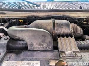 Ford E250 van air intake system