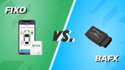 FIXD vs. BAFX obd scanner comparison