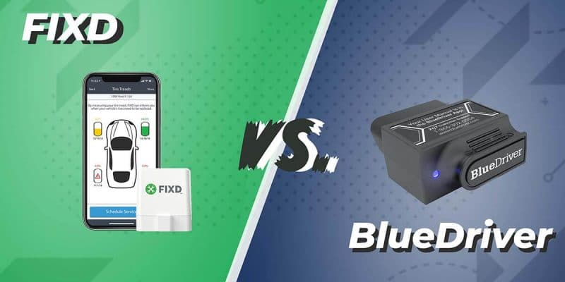 FIXD vs. BlueDriver scan tool comparison