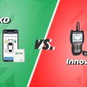 FIXD vs. Innova Carscan Pro OBD scanner comparison