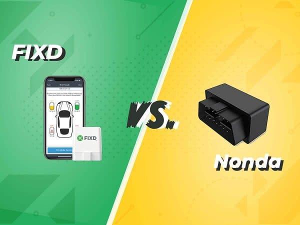 FIXD vs. Nonda OBD2 scanner comparison