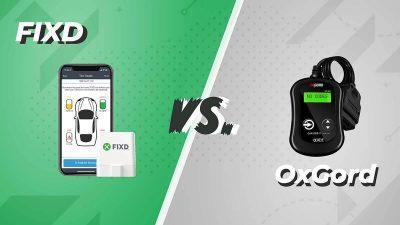 FIXD vs. OxGord OBD2 Scanner Comparison