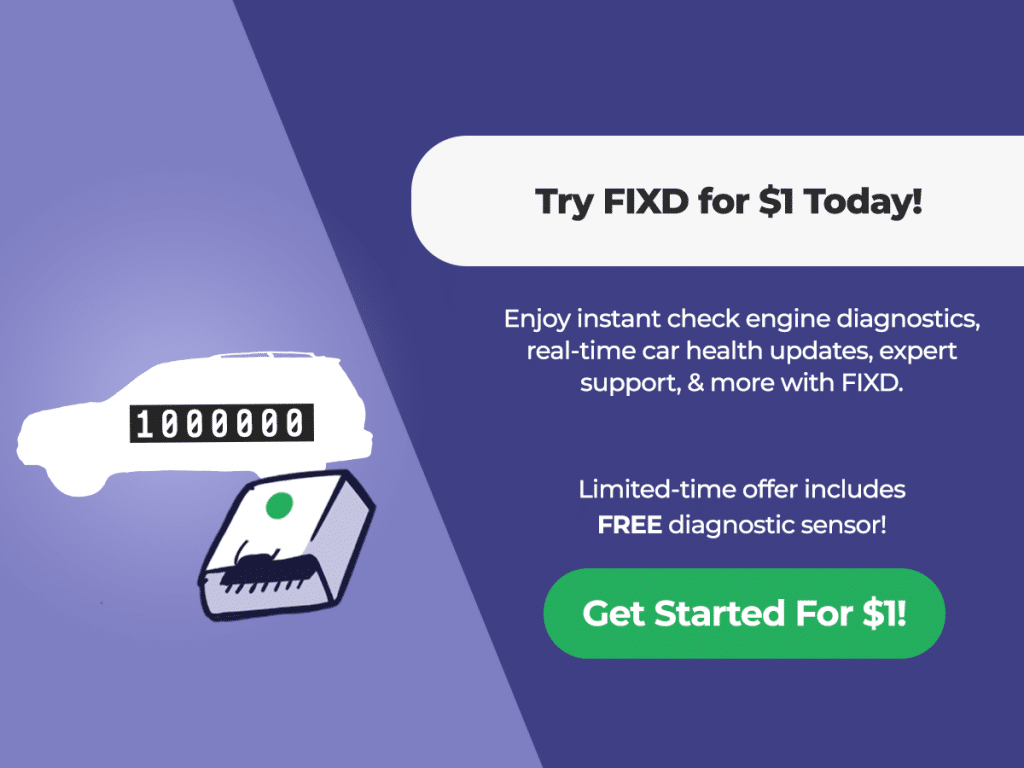 Try FIXD for $1 for a limited time
