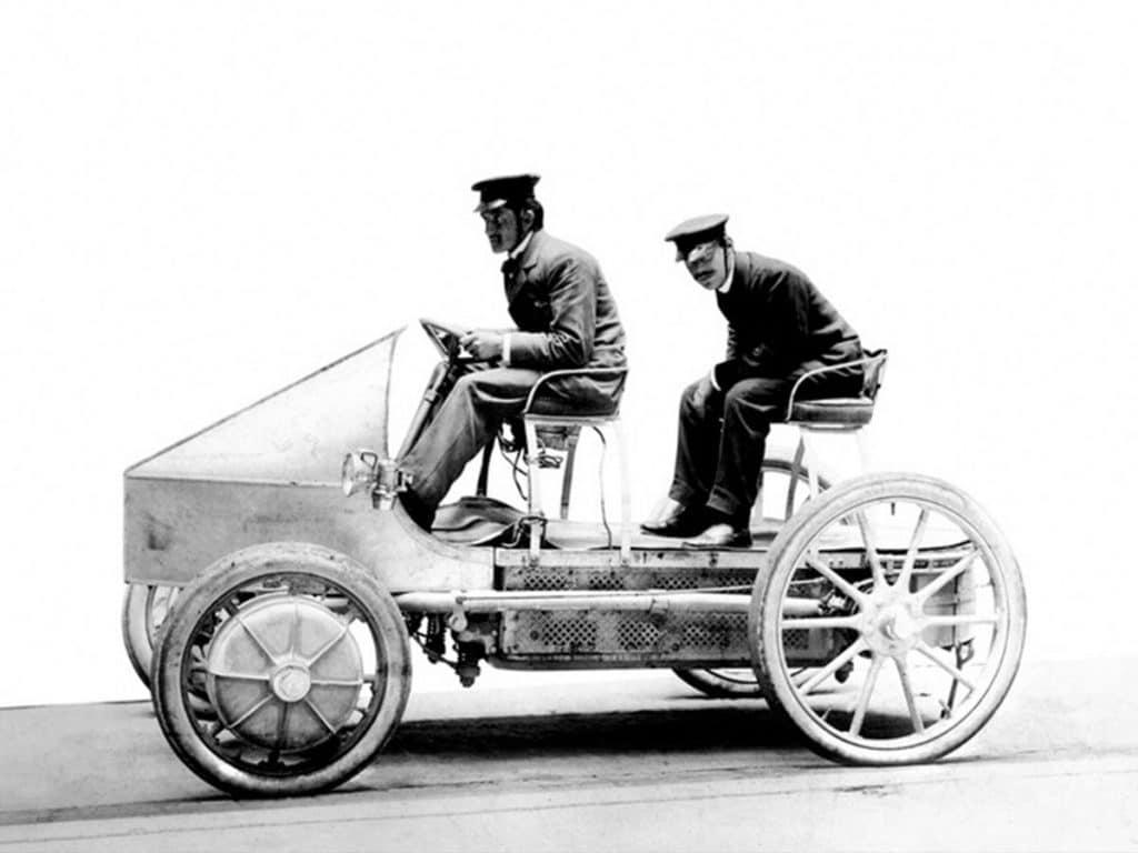 1898 electric Porsche