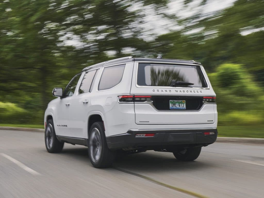 2022 Grand Wagoneer driving