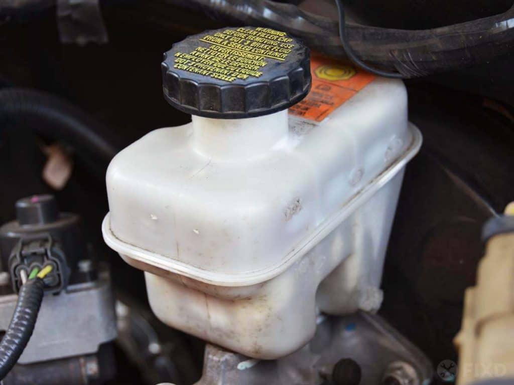 Brake Master Cylinder Fluid Reservoir