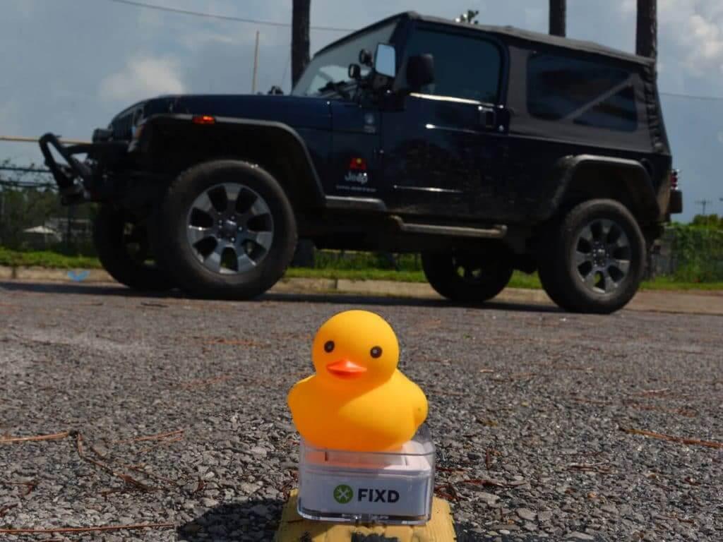 Jeep, duck, FIXD