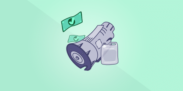 How much does a transmission fluid and filter change cost?