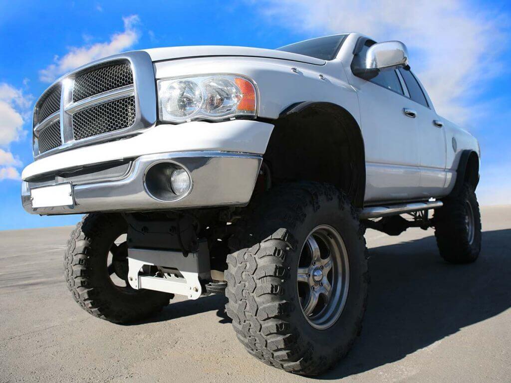 modified pickup truck