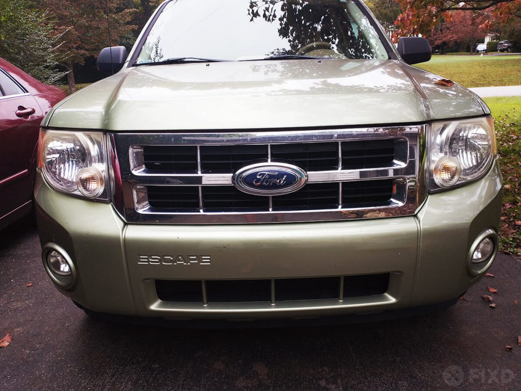 2008 Ford Escape headlights in fall