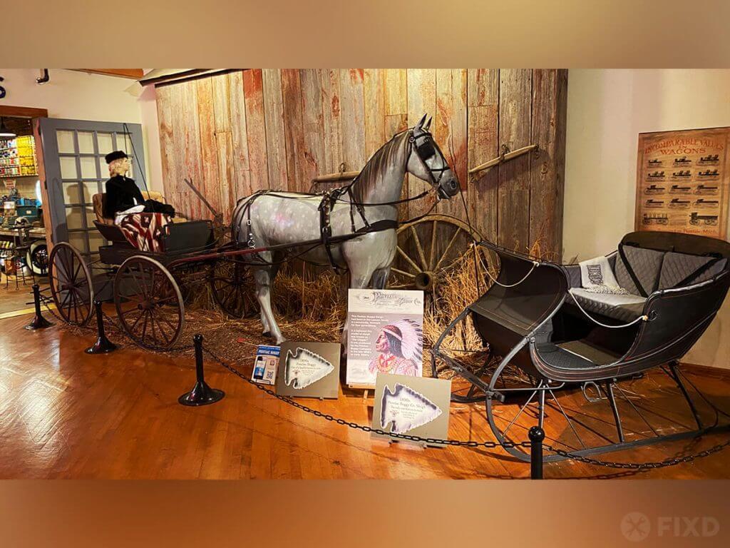 Pontiac carriage and sleigh